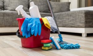 Dọn vệ sinh nhà cửa