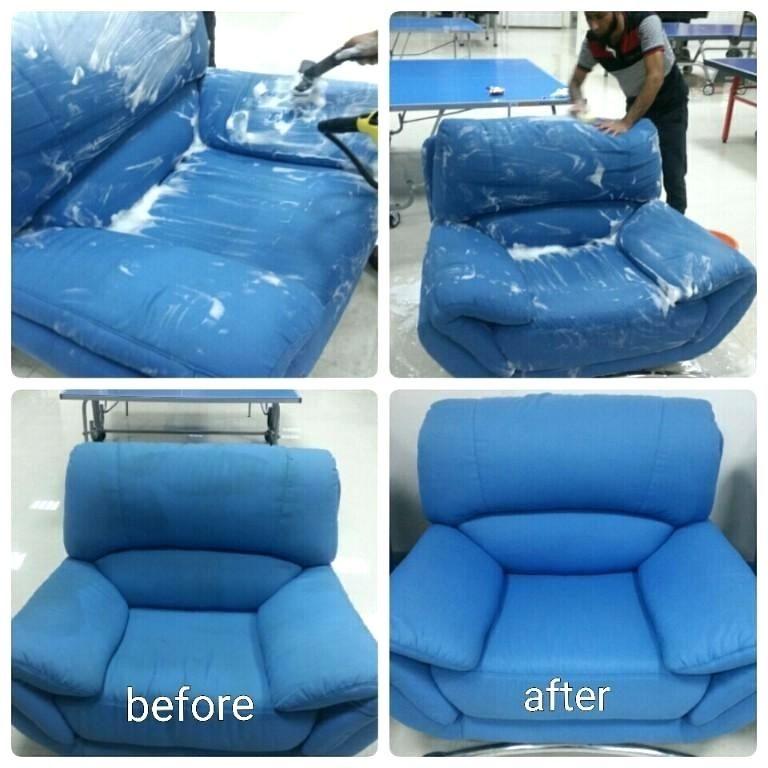 Dịch vụ giặt ghế sofa, thảm, nệm tại TPHCM